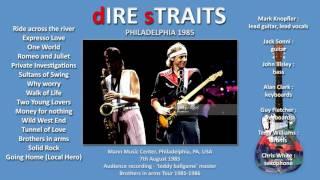 Wild West End — Dire Straits 1985 Philadelphia LIVE [audio only] AMAZING VERSION!