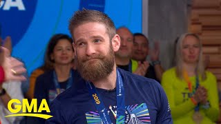 Marine who crawled across Boston Marathon finish line finishes NYC race l GMA