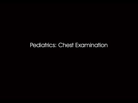 Dr. Ahmed Darwish - Pediatrics: Respiratory Examination