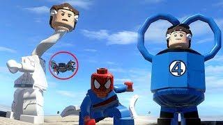 Spiderman (Transformation) VS Mister Fantastic (Transformation) - LEGO Marvel Superheroes