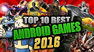 Top 10 Best HD Android Games 2017 (HIGH GRAPHICS)