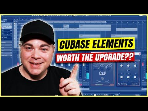 Steinberg Cubase LE Vs Cubase Elements 11