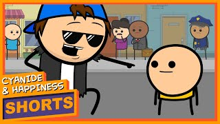 Stevie McShortstuff - Cyanide & Happiness Shorts