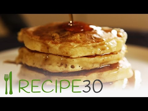 How to make the fluffiest pancakes in the world with secret ingredient- By RECIPE30.com