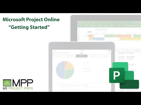 Microsoft Project Online - Getting Started
