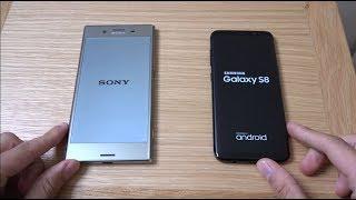 Sony Xperia XZ Premium vs Samsung Galaxy S8 - Speed Test!