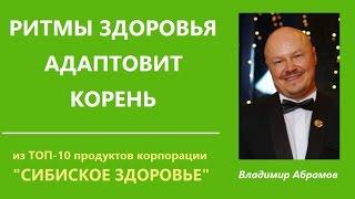 Ритмы здоровья, Адаптовит, Корень. ТОП-10 продуктов Сибирского здоровья. Доктор Абрамов