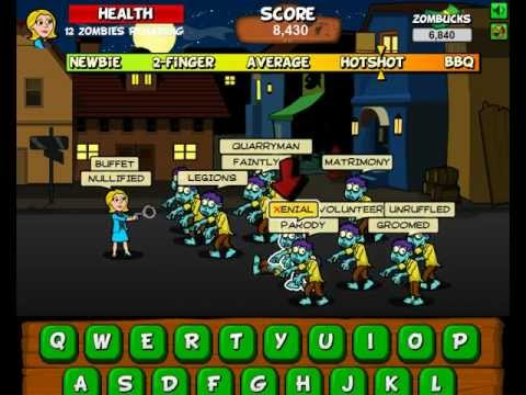 Because The World Needs More Zombie-Themed Typing Games