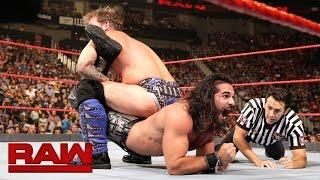 Seth Rollins vs. Chris Jericho: Raw, Sept. 5, 2016