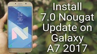 Android 7 0 Nougat Update Status! Original A5, A3, A7, J5, J7 (2015