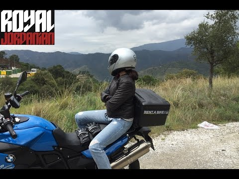 BMW F800GS ride in Spain