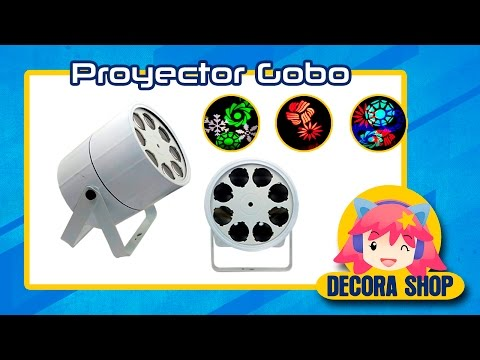►►Proyector GOBO RGBW - DMX/audio ritmica/Automatica◄◄