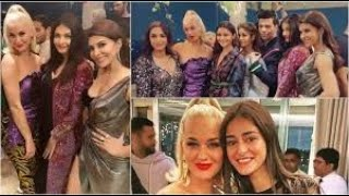 Katy Perry gets a warm welcome from Ananya Panday, Aishwarya Rai & others at Karan Johar's party;