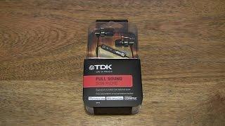 TDK SP70 Noise Isolating Earphones with Control