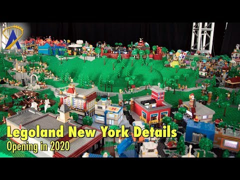 Legoland New York reveals details of its eight lands opening in 2020
