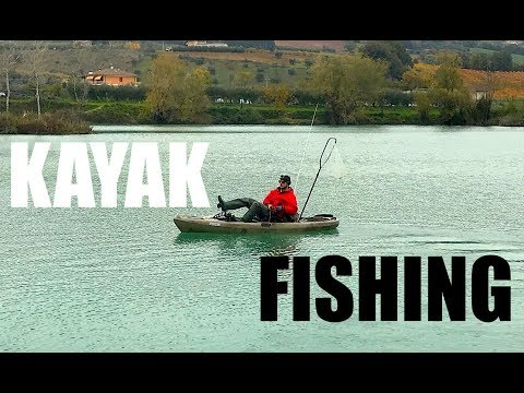 Scegliere un kayak per pesca