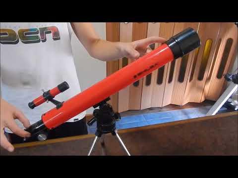Usando telescopios refractores - ASTRONOMÍA 7