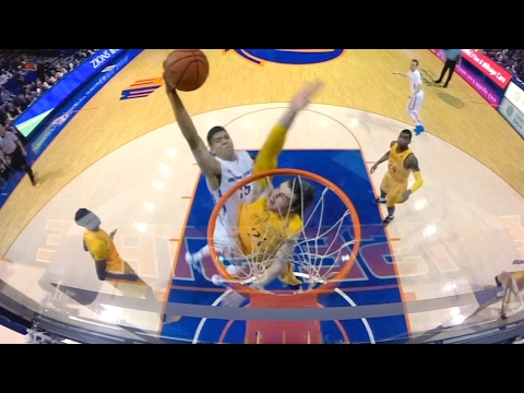 Top 5 Dunks Of The Night In College Hoops | CampusInsiders
