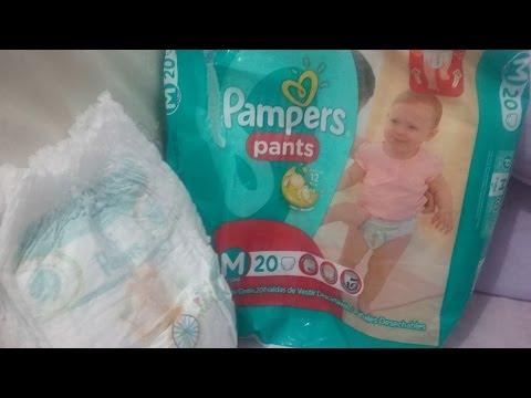 Fralda Pampers Pants: Minha Opnião