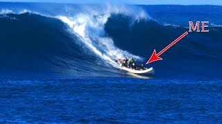 Trying To Survive Hawaii!! Shark Diving & Monster Waves