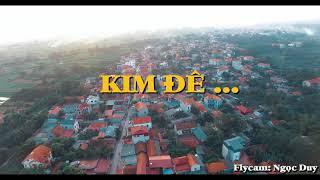 THÔN KIM ĐÊ - XÃ AN TƯỜNG | Flycam Đặng Ngọc Duy | DJI Phantom 3 Pro