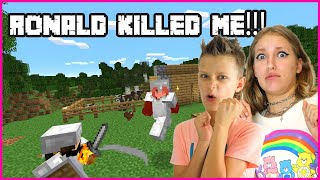 RONALD KILLED ME!