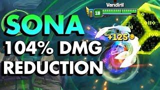104% DAMAGE REDUCTION SONA!