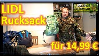 Lidl/Crevit Rucksack 25 l - Schrott oder gute Qualität? Wanderrucksack - 14,99 €