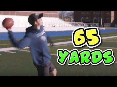 CAN I STILL THROW A FOOTBALL 65 YARDS?