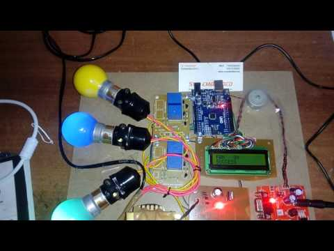 Android SMS App Based Device Switching using Arduino