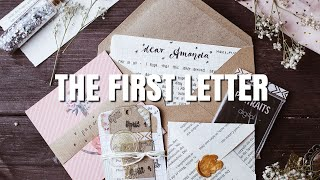 How to write the first pen pal letter | itsmeamyge
