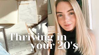 How to Thrive in Your 20's / Financial Freedom, Success and Happiness  | Nika