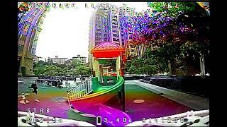 FPV Tinyhawk 2 in playground