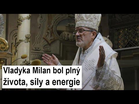 Príhovor otca Jozefa Jonáša Maxima: Vladyka Milan Šášik pre mňa ostáva príkladným kňazom, človekom a biskupom
