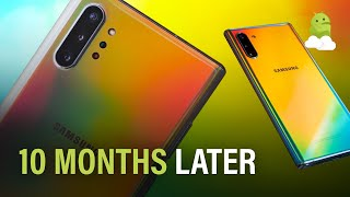 Samsung Galaxy Note10, revisited 10 months later