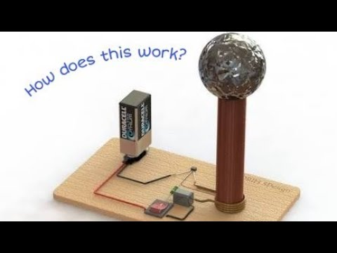 Download How A Tesla Coil Works Physics Project Video 3GP Mp4 FLV HD