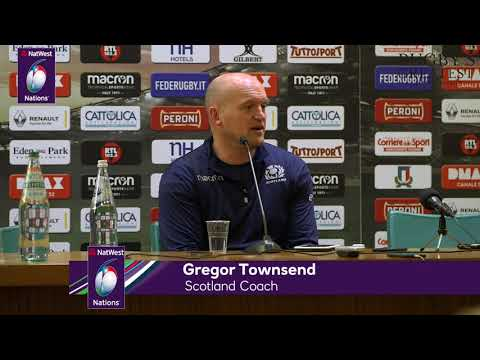 Press Conference: Scotland's Gregor Townsend after Italy victory  NatWest 6 Nations