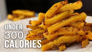BUTTERNUT SQUASH FRIES UNDER 300 CALORIES