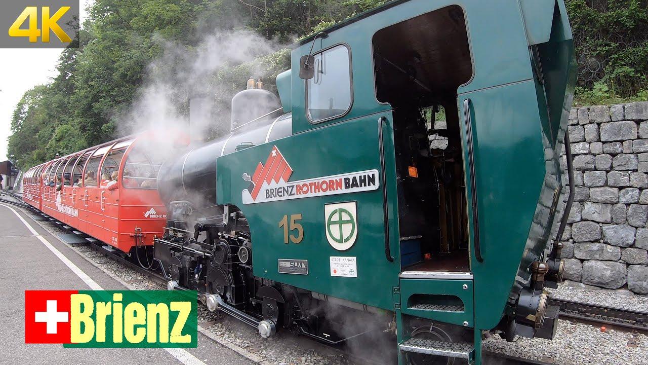 Brienz Rothorn Bahn in Switzerland