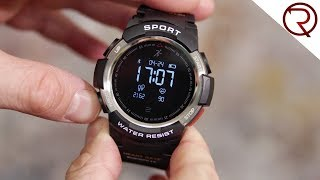 No.1 F6 Waterproof Outdoor Rugged Smartwatch Review - Under $40