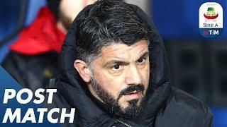 Atalanta 1-3 Milan   Gennaro Gattuso Post Match Press Conference   Serie A