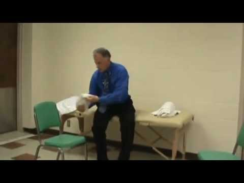 Gymnastik für den Hals Osteochondrose Prophylaxe