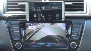 Android in Fabia III Bolero infotainment system