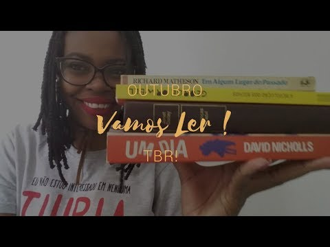 O que vou ler em OUTUBRO | TBR