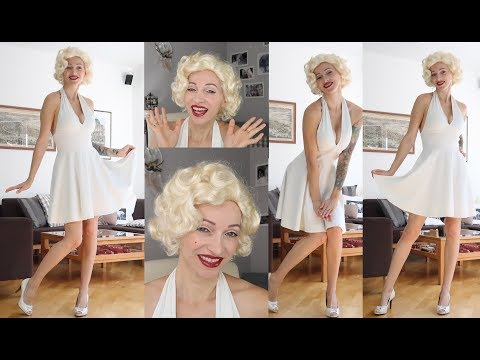 DIY Marilyn Monroe Costume Halloween 2017