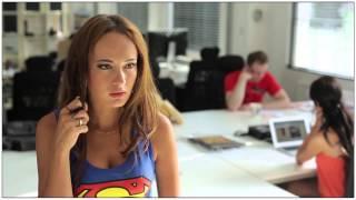 Video Batgirl vs. Supergirl