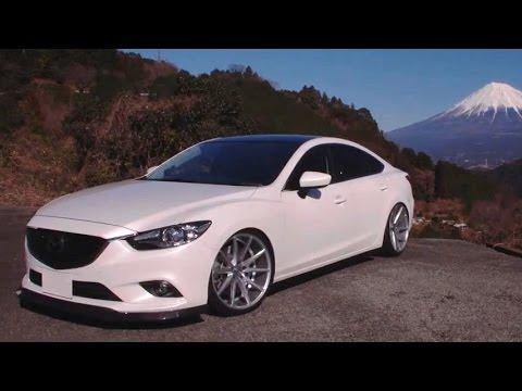 Mazda 6 on Custom Vossen VFS1 Wheels