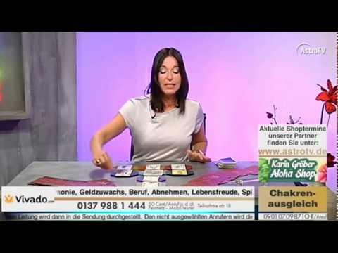 Chakrenausgleich mit Linda Giese Live im Fernsehn auf AstroTV