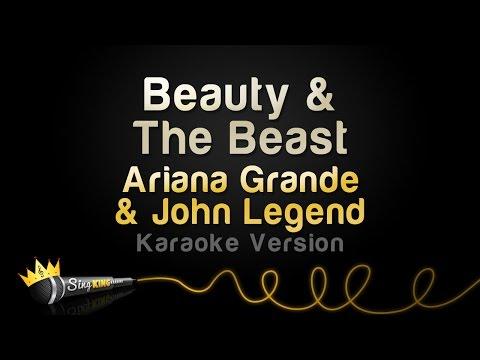 Ariana Grande John Legend – Beauty & The Beast (Karaoke Version)