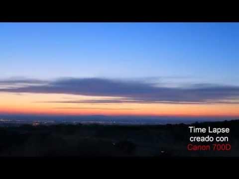 Time Lapse de amanecer en Zaragoza ✔